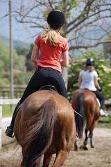 Lezione di equitazione Roma